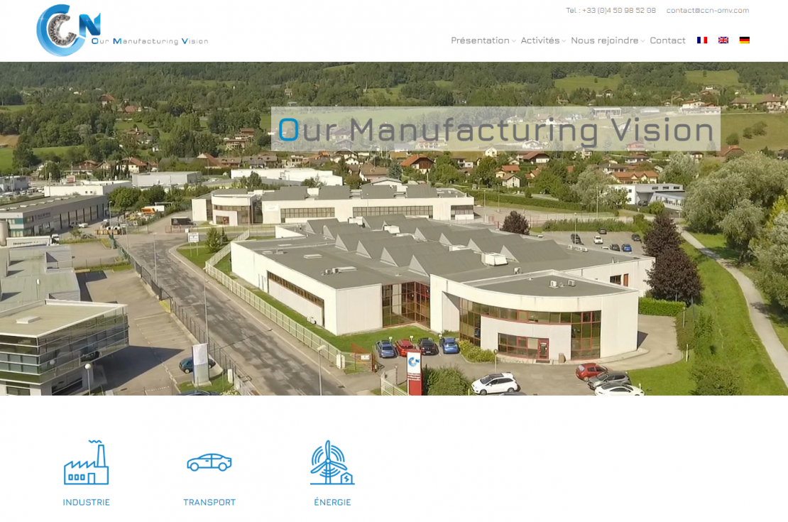 CCN - Our manufacturing Vision