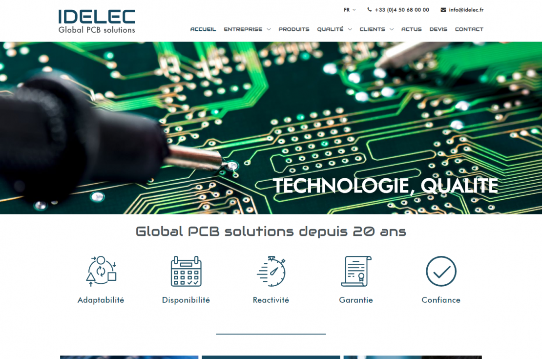 IDELEC - Global PCB solutions