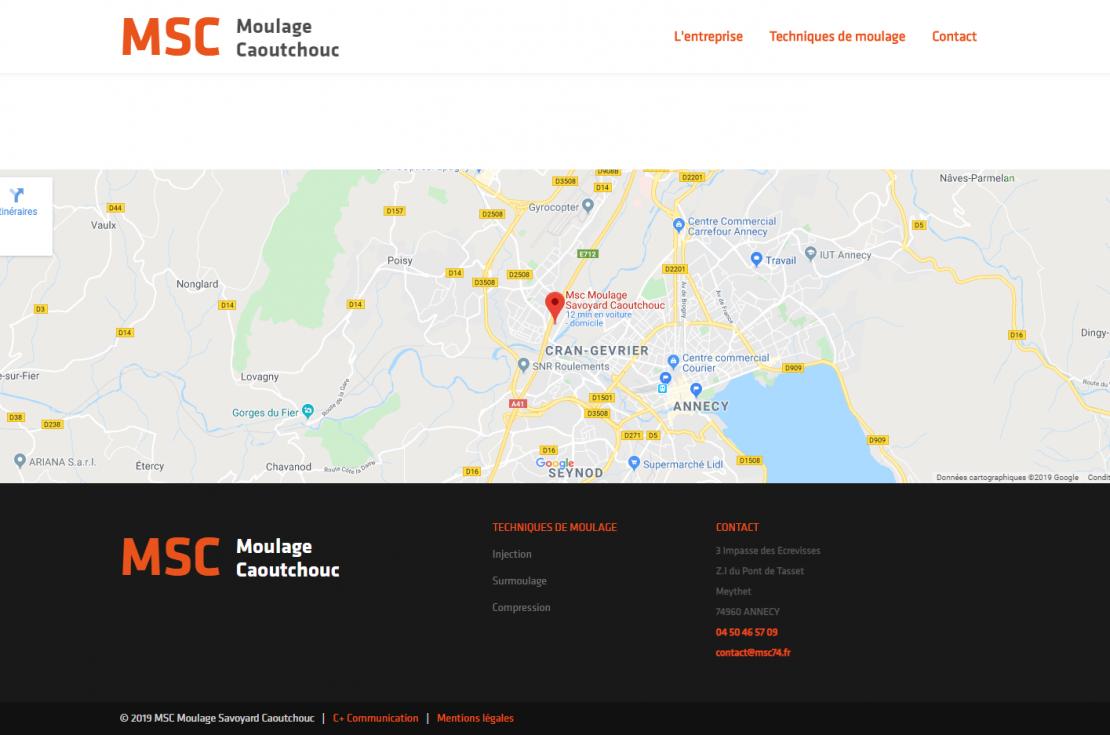 Nouveau site web pour MSC !