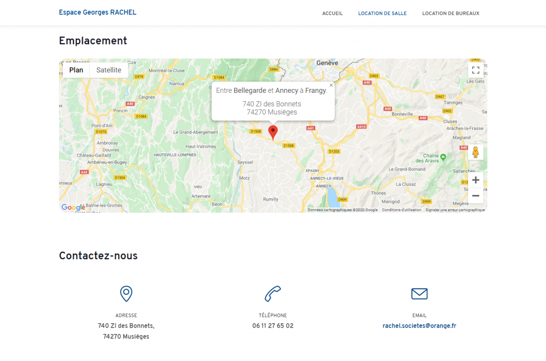 Nouveau site internet 🖥️ !