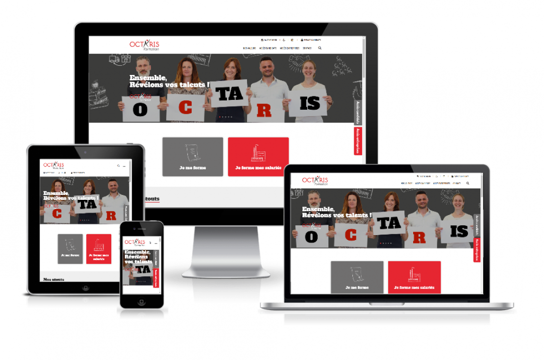 Nouveau site web !