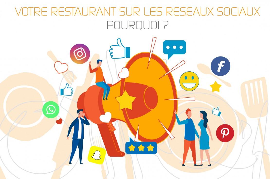 Votre Restaurant sur les Réseaux Sociaux… Pourquoi, où et comment ?