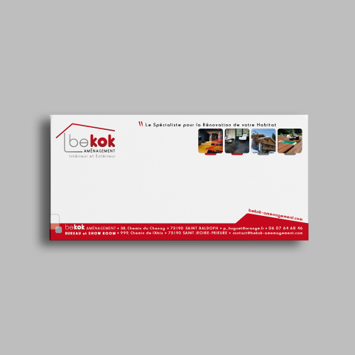 Carte de correspondance - Bekok Aménagement / C+ Communication