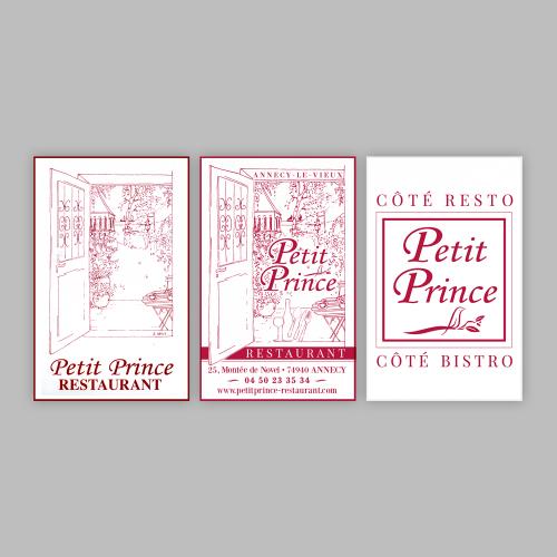 Propositions de logos - Le Petit Prince / C+ Communication