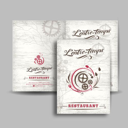 Porte menu - L'entre-Temps / C+ Communication