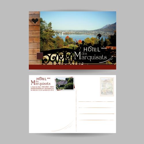 Carte postale - Hôtel des Marquisats / C+ Communication