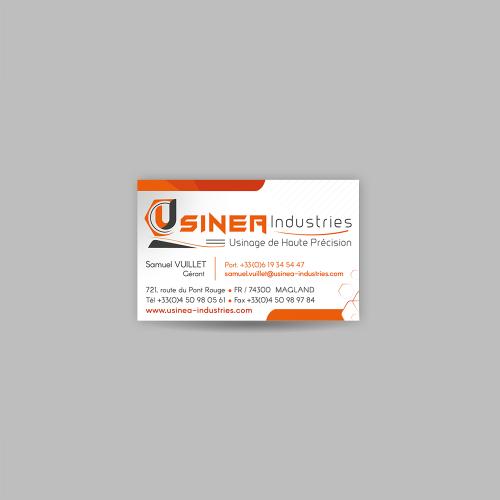 Carte commerciale - Usinéa / C+ Communication