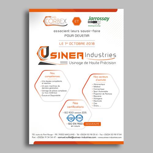 Courrier d'information - Usinéa / C+ Communication