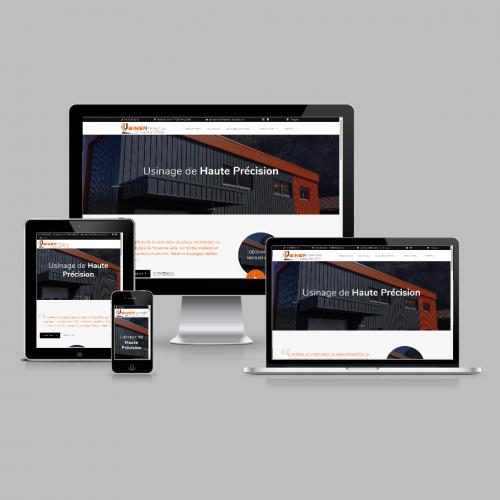 Site internet - Usinéa / C+ Communication