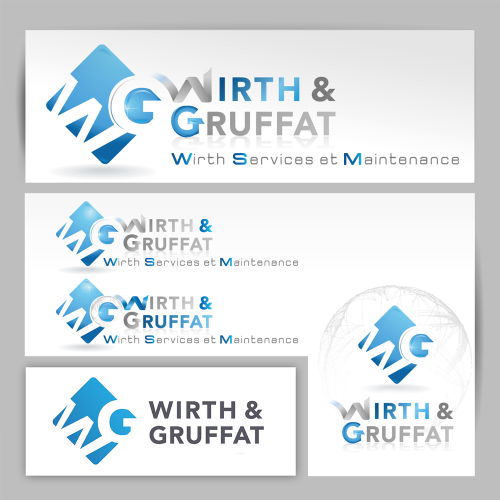 Proposition de logos Wirth & Gruffat - OMV / C+ Communication