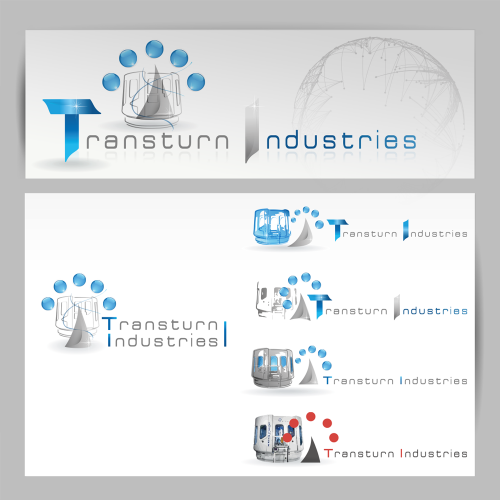 Proposition de logos Transturn Industries - OMV / C+ Communication