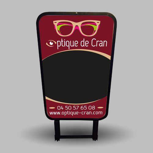 Affiche pour Stop Trottoir - Optique de Cran / C+ Communication