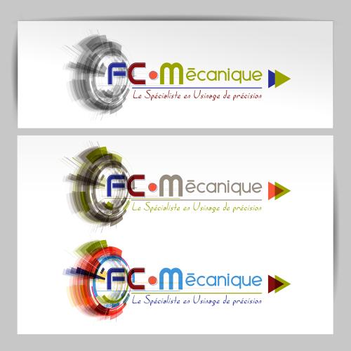 Propositions de logos - FC Mécanique / C+ Communication