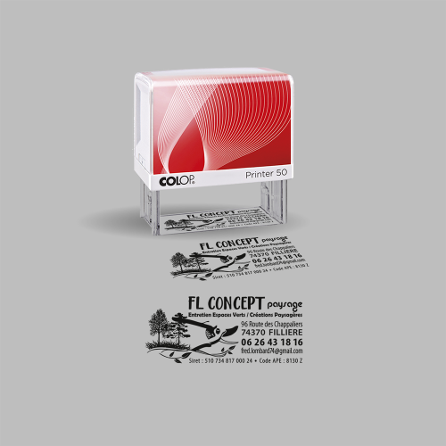 Tampon - FL Concept paysage / C+ Communication