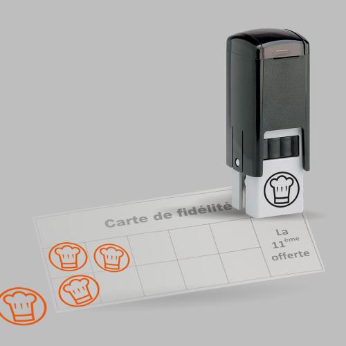 Tampon spécial fidélité - Boucherie de la Mandallaz / C+ Communication