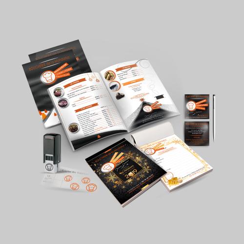 Panoplie de communication - Boucherie de la Mandallaz / C+ Communication