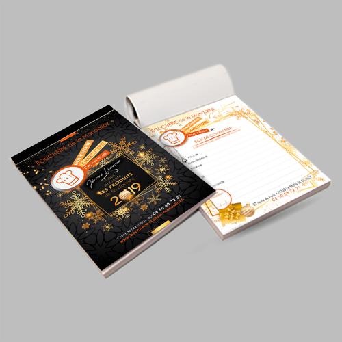 Bloc bon de commande - Boucherie de la Mandallaz / C+ Communication