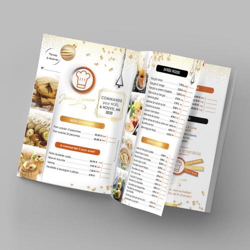 Brochure A5 - Boucherie de la Mandallaz / C+ Communication