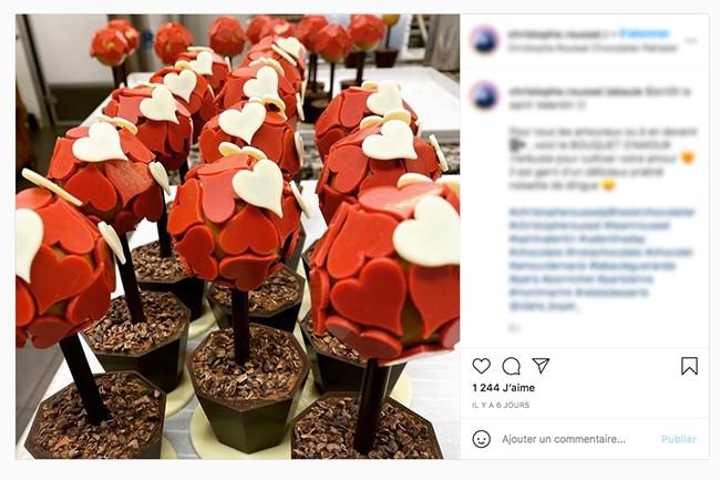 Saint-Valentin Instagram