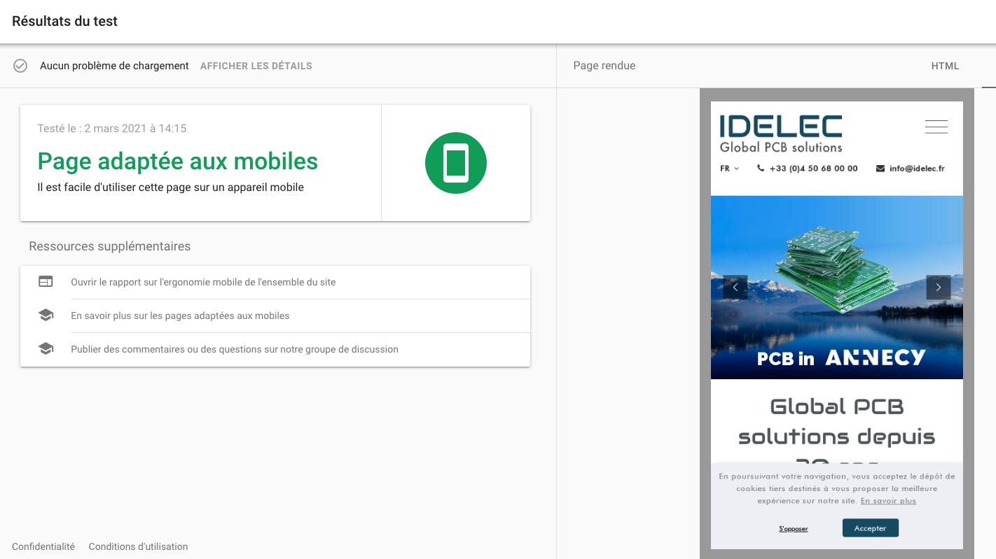 Refonte de Site - mobil-friendly