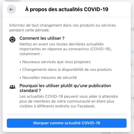 Actualité Covid